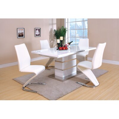 Wade Logan Devansh 5 Piece Dining Set