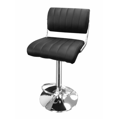 Wade Logan Cristian Adjustable Height Swivel Bar Stool