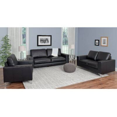 Wade Logan Greysen 3 Piece Sofa Set