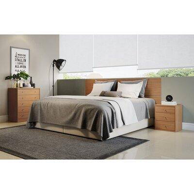 Wade Logan Kavin 2 Piece Bedroom Dresser and Nightstand Set