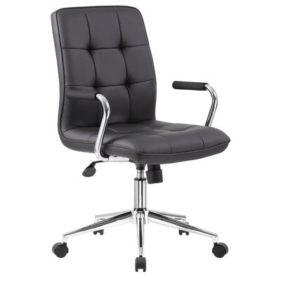Wade Logan Porterville Adjustable Mid-Back Office Chair