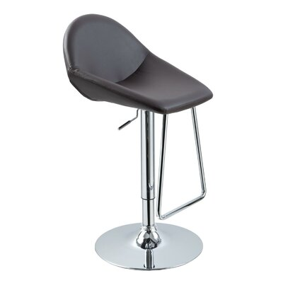 Wade Logan Belafonte Adjustable Height Swivel Bar Stool Adjustable Height Swivel Bar Stool