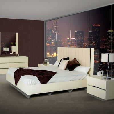 Wade Logan Marley Upholstered Panel Bed