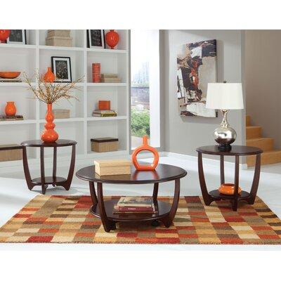 wade logan ophelia 3 piece coffee table set & reviews | wayfair
