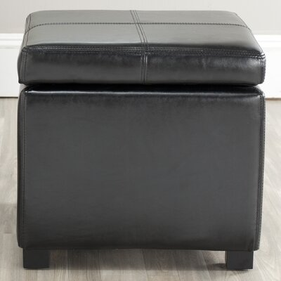 Corrigan Studio Clemens Leather Storage Ottoman