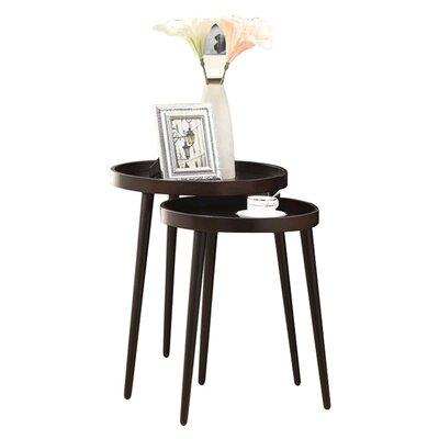 Corrigan Studio Deltha 2 Piece Nesting Table Set