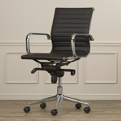 Corrigan Studio Cruz Mid-Back Leather Conference Chair