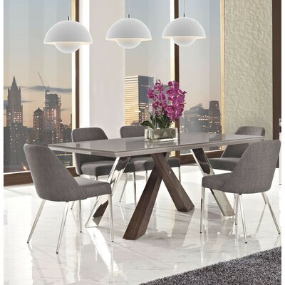 Wade Logan Link 7 Piece Dining Set