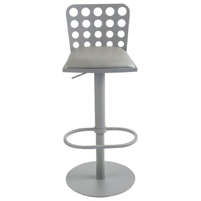 Wade Logan Chinook Adjustable Height Swivel Bar Stool