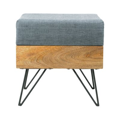 Langley Street Placer Square Ottoman