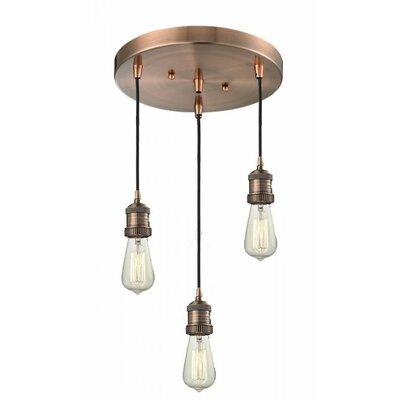 Innovations Lighting Bare Bulb 3 Light Pendant Amp Reviews