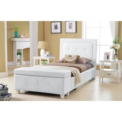BestMasterFurniture Twin Panel Bed with Storage