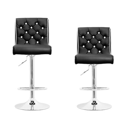 BestMasterFurniture Adjustable Height Swivel Bar Stool Set