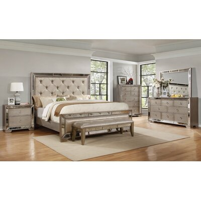 BestMasterFurniture Ava Panel Customizable Bedroom Set