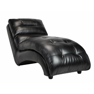 BestMasterFurniture Leather Chaise Lounge