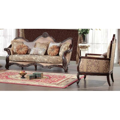 BestMasterFurniture 2 Piece Sofa and Chair Set