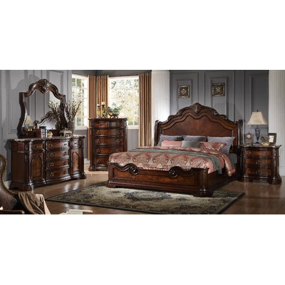 BestMasterFurniture Panel 5 Piece Bedroom Set