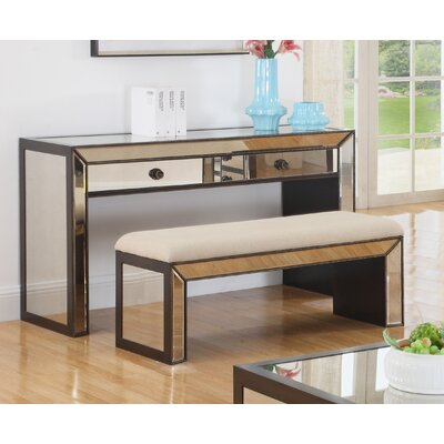 BestMasterFurniture Console Table and Bench Set