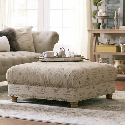 Lark Manor Versailles Nail Button Cocktail Ottoman