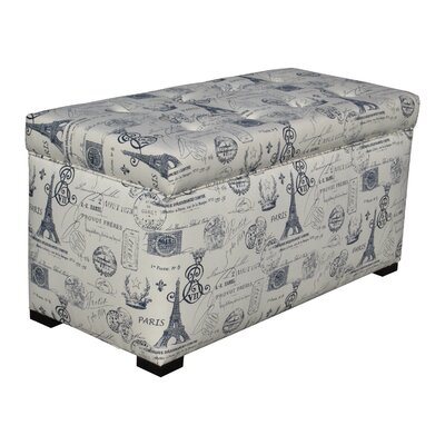 Lark Manor Pavot Upholstered Storage Bedroom Bench
