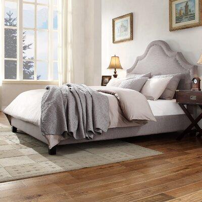 Lark Manor Nais Upholstered Panel Bed