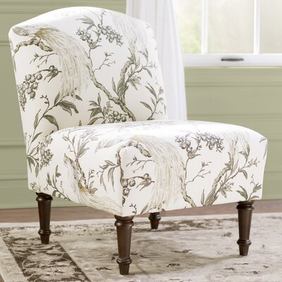 Lark Manor Champigny Back Slipper Chair