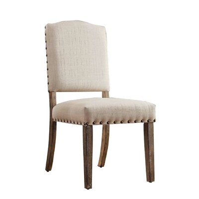 Lark Manor Pompon Nailhead Side Chair (Set of 2)