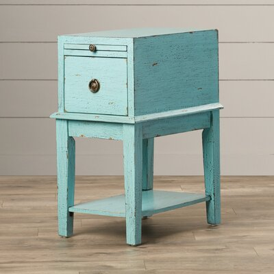Lark Manor Philippine 1 Drawer End Table