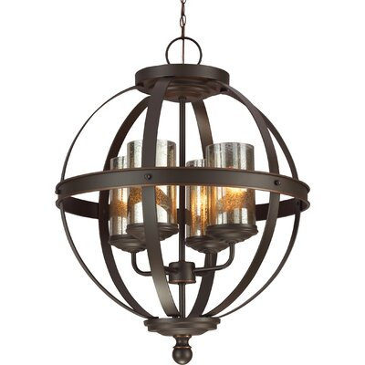 lark manor haute marne 4 light chandelier reviews wayfair. Black Bedroom Furniture Sets. Home Design Ideas