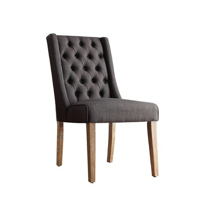 Lark Manor Allain Tufted Side Chair (Set of 2)
