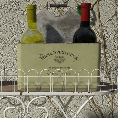 Lark Manor Bilel 6 Bottle Tabletop Wine Rack