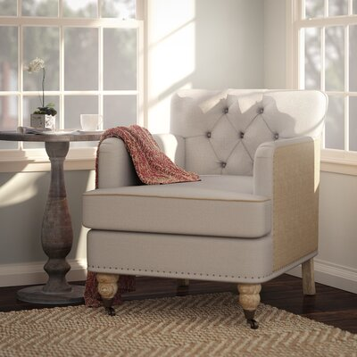 Lark Manor Minerve Tufted Arm Chair