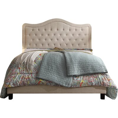 Mulhouse Furniture Adella Upholstered Panel Bed