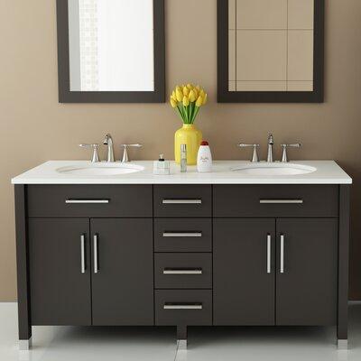Jwh Living Rana 59 Double Bathroom Vanity Set Reviews Wayfair