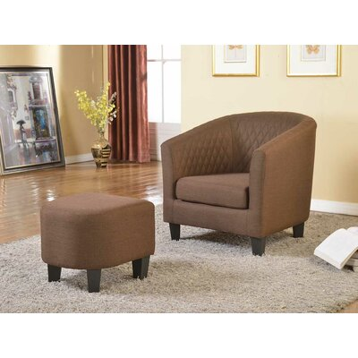 Container Isabella Arm Chair and Ottoman