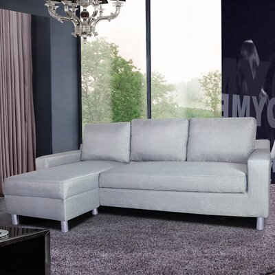 Container Kacy Convertible Sleeper Sectional & Reviews