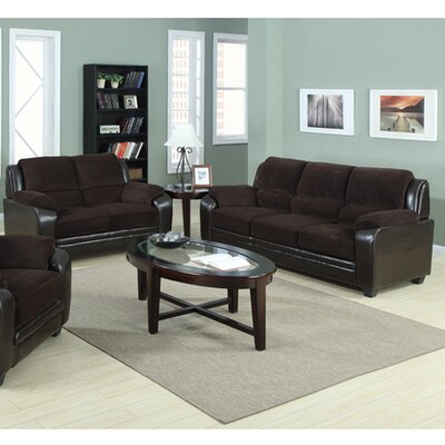 Container 2 Piece Sofa and Loveseat Set