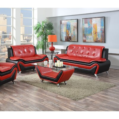 Container Wanda 2 Piece Living Room Set