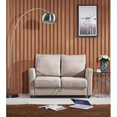 Container Contemporary Fabric Loveseat