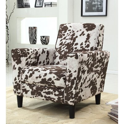 Container Cow Spot Arm Chair