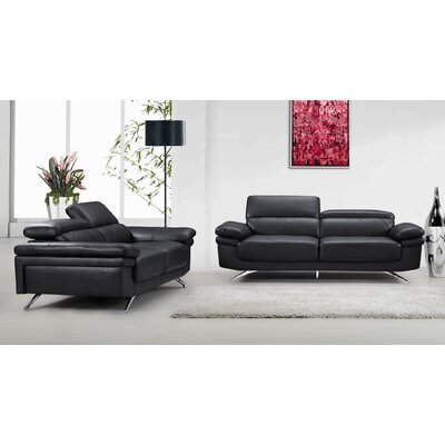 Container Morden 2 Piece Sofa and Loveseat Set
