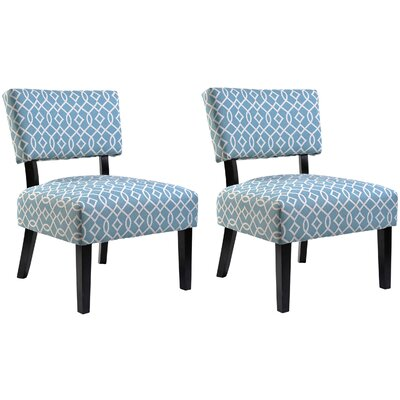 Container Abstract Side Chair (Set of 2)