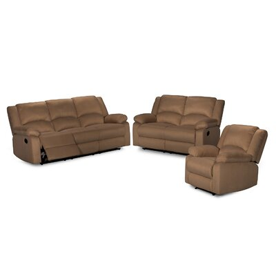 Container 3 Piece Recliner..