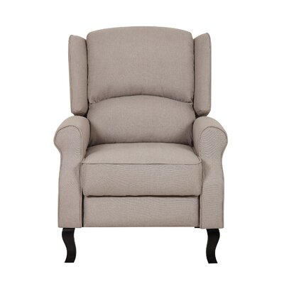 Container Linen Fabric Recliner