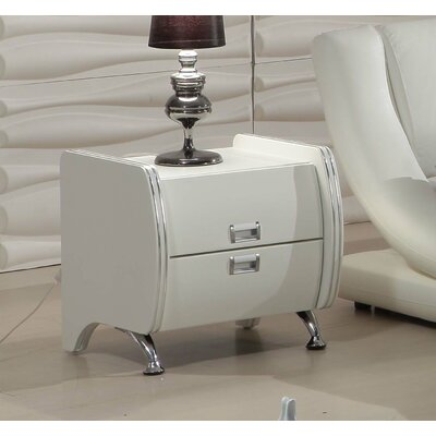Container Julian 2 Drawer Night Stand