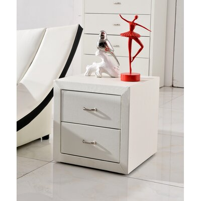 Container Dona 2 Drawer Night Stand