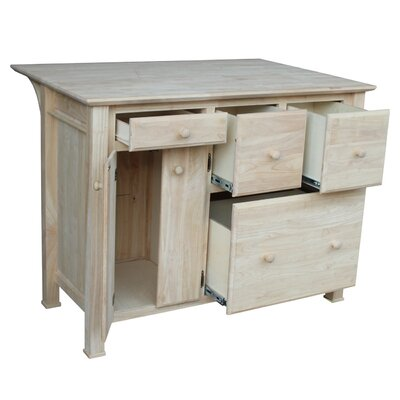 International Concepts Kitchen Island