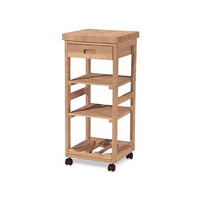 International Concepts Kitchen Cart