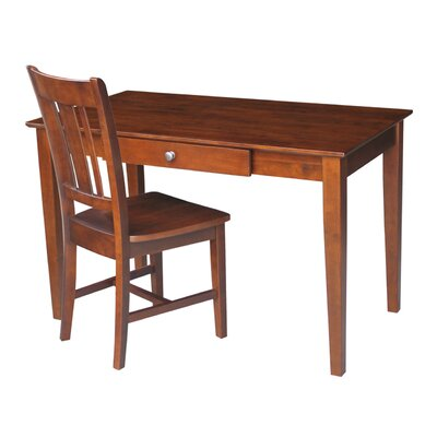 International Concepts Writing Desk with ..