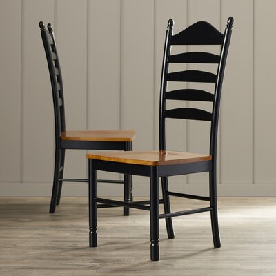 International Concepts Madison Park Ladderback Side Chair (Set of 2)